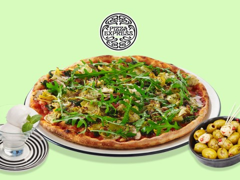 Pizza Express are now doing a three-course vegan menu