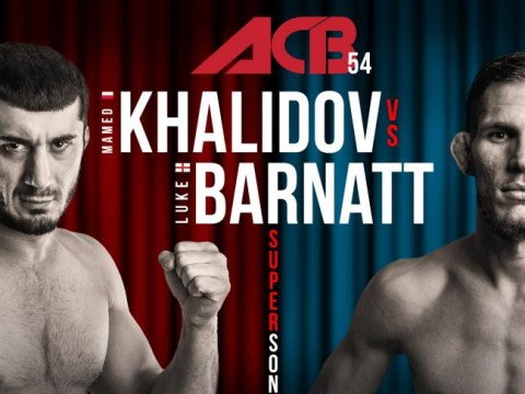 ACB 54: Live results and action from Luke Barnatt vs Mamed Khalidov