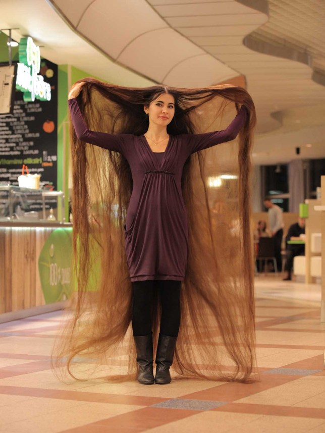 This Real-Life Rapunzel Has 90-Inch-Long Locks | HuffPost