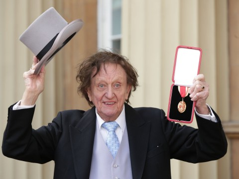 Sir Ken Dodd, 90, in hospital as chest infection leaves him 'struggling to breathe'