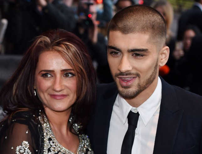 Mandatory Credit: Photo by David Fisher/REX/Shutterstock (4673657t)nZayn Malik and mother Tricia MaliknThe Asian Awards, Grosvenor House, London, Britain - 17 Apr 2015nAwards celebrating the best in Asian achievement across business, sport, entertainment, philanthropy and popular arts and culture, for those with origins across the whole Asian continentn