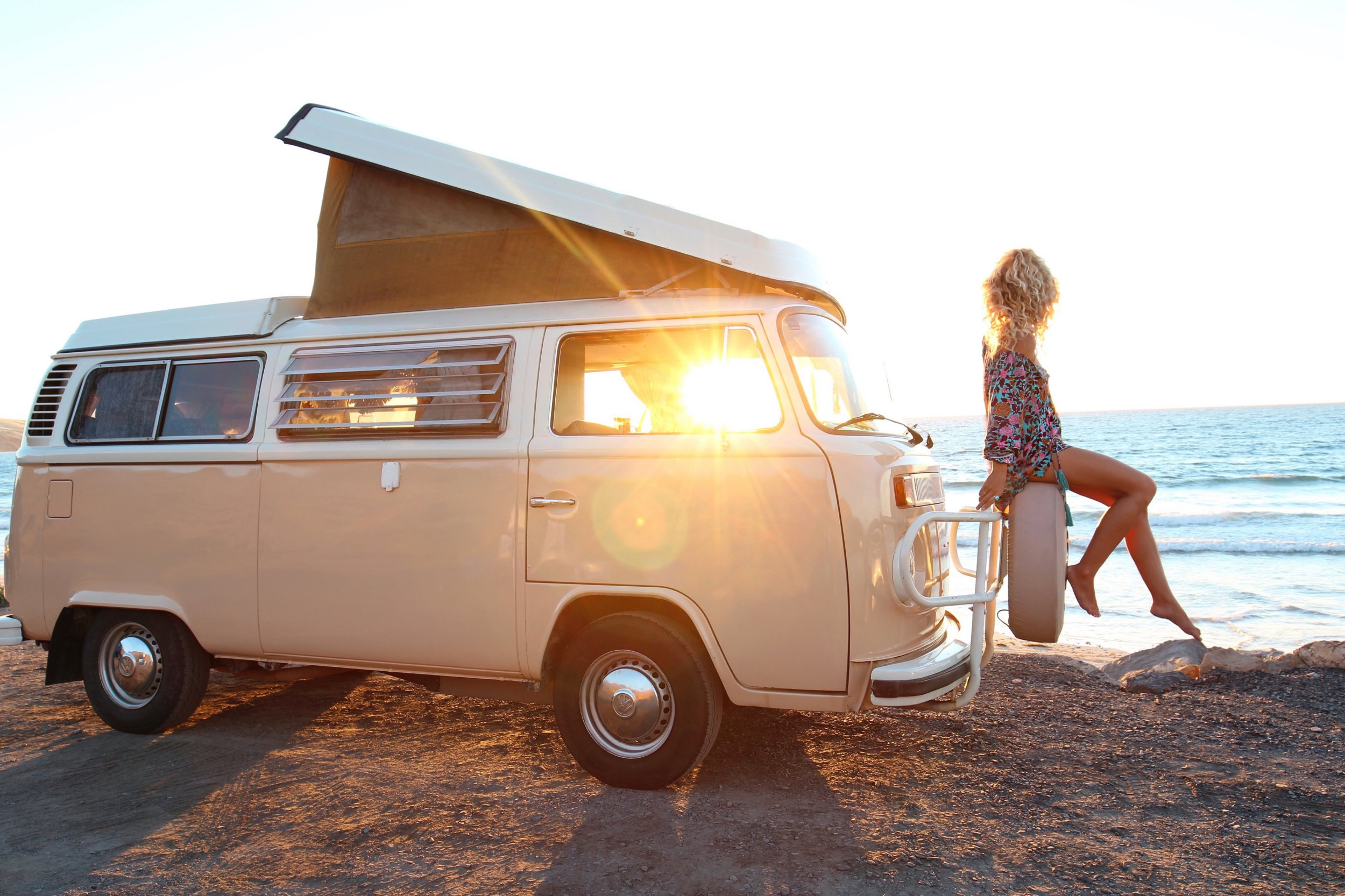 Widower gives his $40k Kombi away for HALF price to young couple who now travel the country living their dream 'van life' Picture: Elise Cook