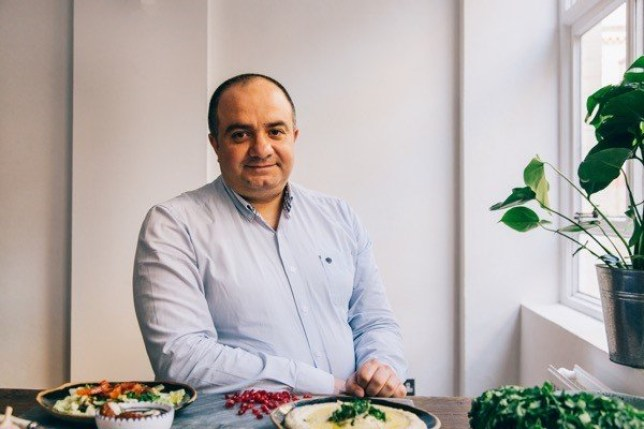 Syrian man who fled war-torn Damascus opens restaurant in London (Imad's Syrian Kitchen)