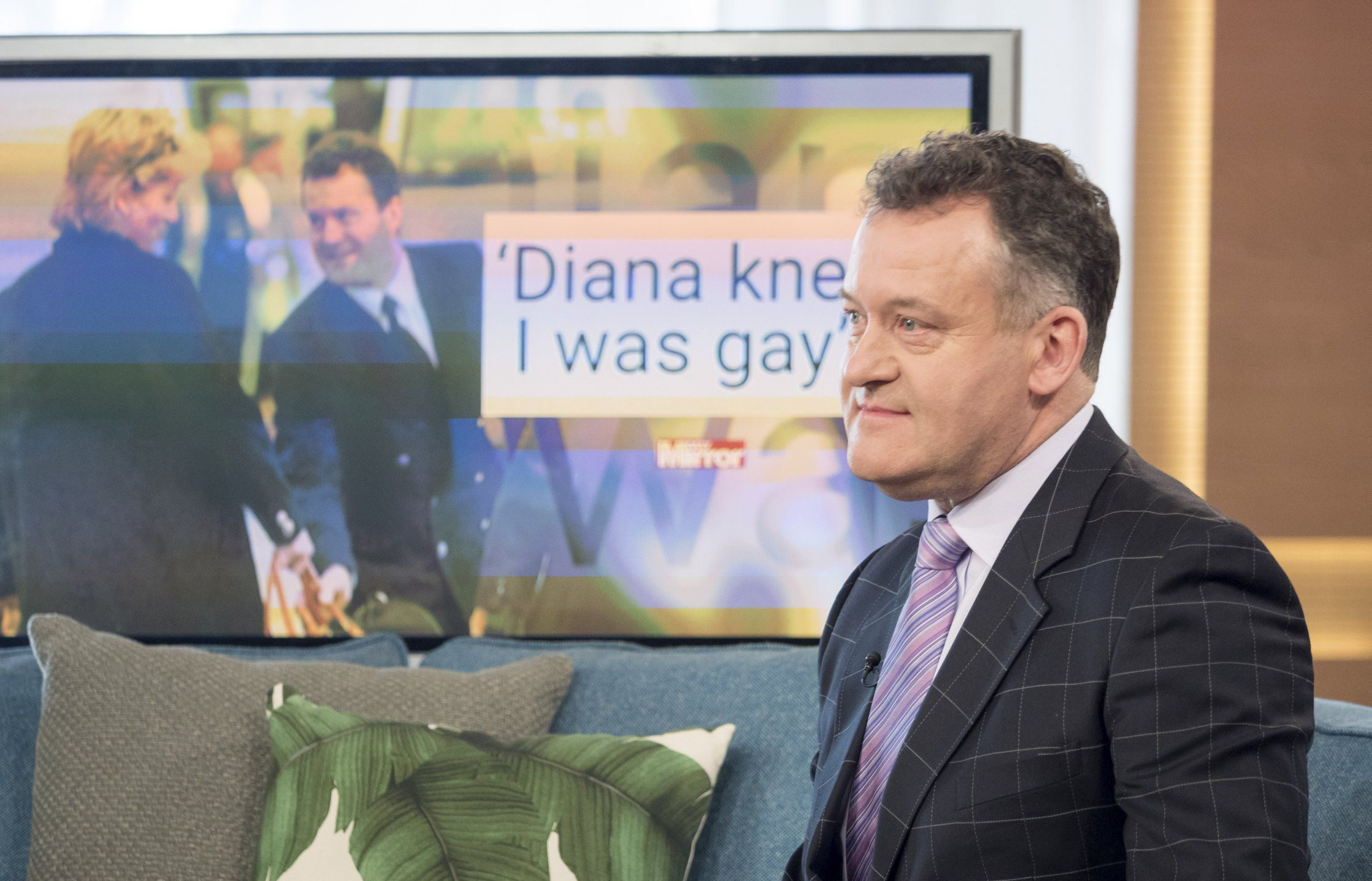 Paul Burrell reveals his wife knew he was gay before their marriage