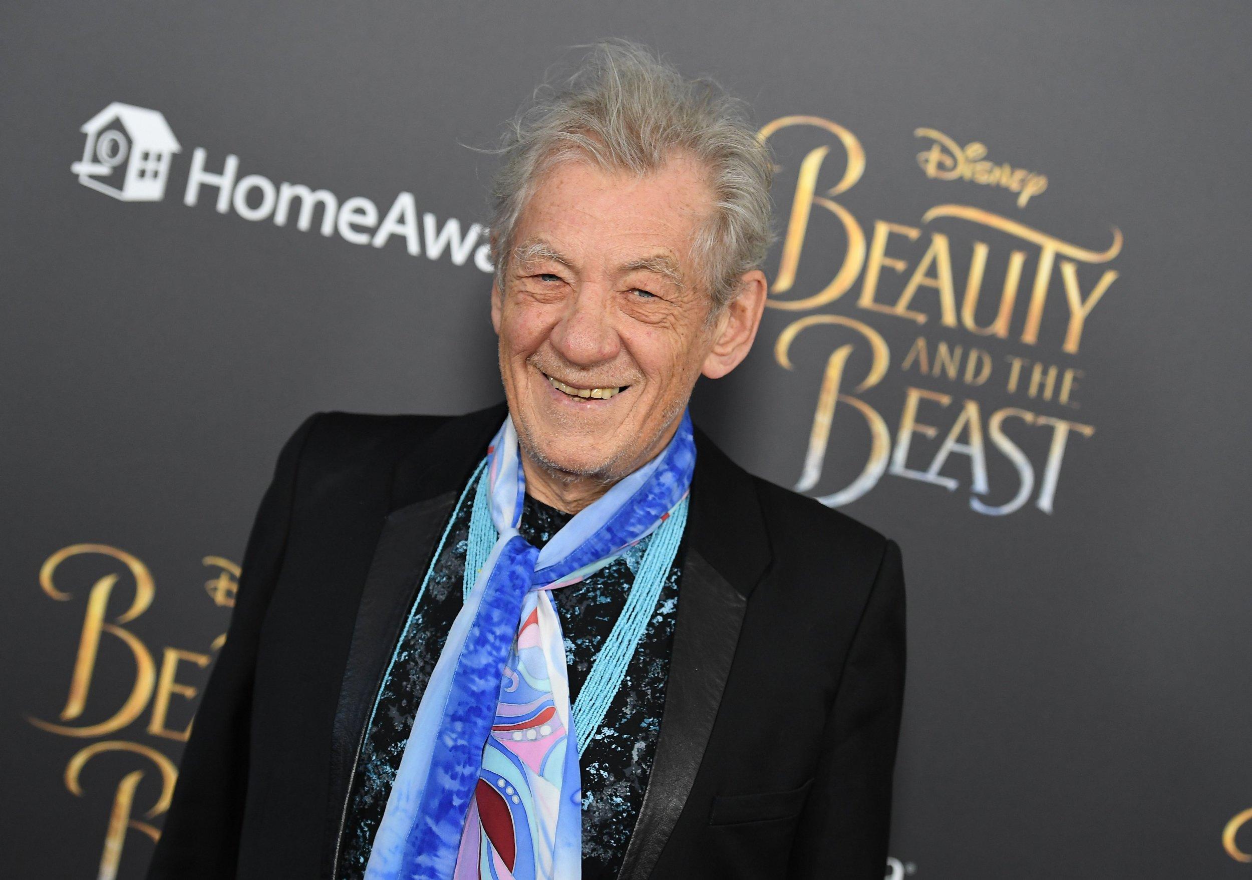 Sir Ian McKellen calls Beauty and the Beast a 'gay extravaganza'