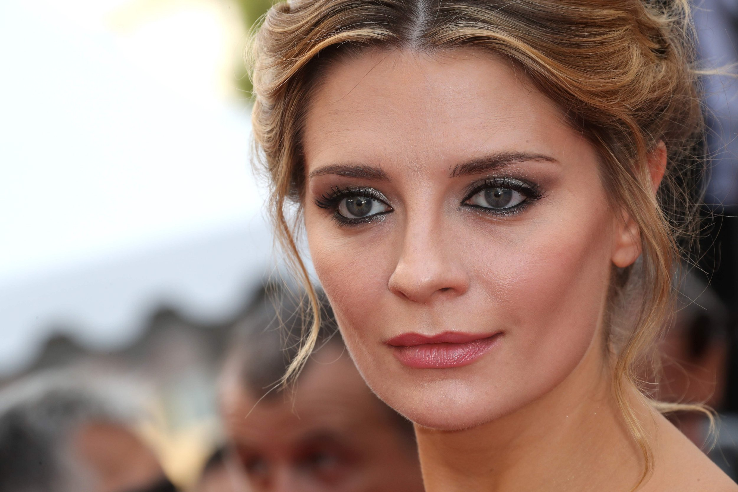 """(FILES) This file photo taken on May 16, 2016 shows British-US actress Mischa Barton arriving for the screening of the film """"Loving"""" at the 69th Cannes Film Festival in Cannes, southern France. Actress Mischa Barton is the victim of """"revenge pornography,"""" her attorney said Tuesday, threatening legal action against anyone touting sexually explicit images of the 31-year-old actress. / AFP PHOTO / Valery HACHEVALERY HACHE/AFP/Getty Images"""