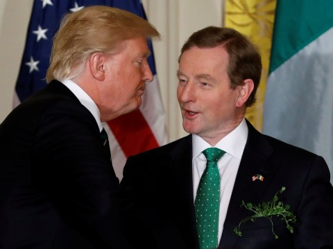 Irish PM trolls Donald Trump on immigration right in front of him