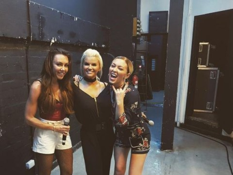 Atomic Kitten's Natasha Hamilton and Kerry Katona forced to end gig as they're pelted with bottles
