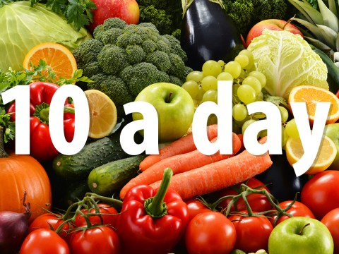 8 simple ways to eat your 10 servings a day of fruit and veg