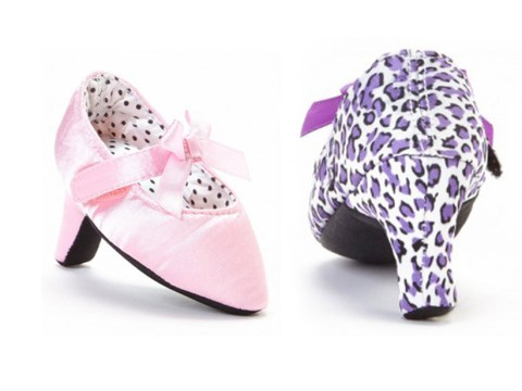 People are not impressed with these high heels for babies