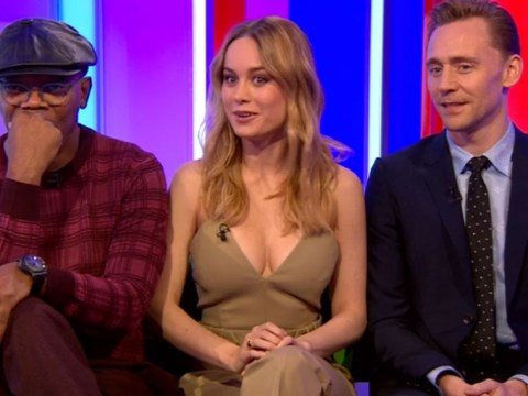 Brie Larson's boobs were the talking point of The One Show as her outfit divided viewers