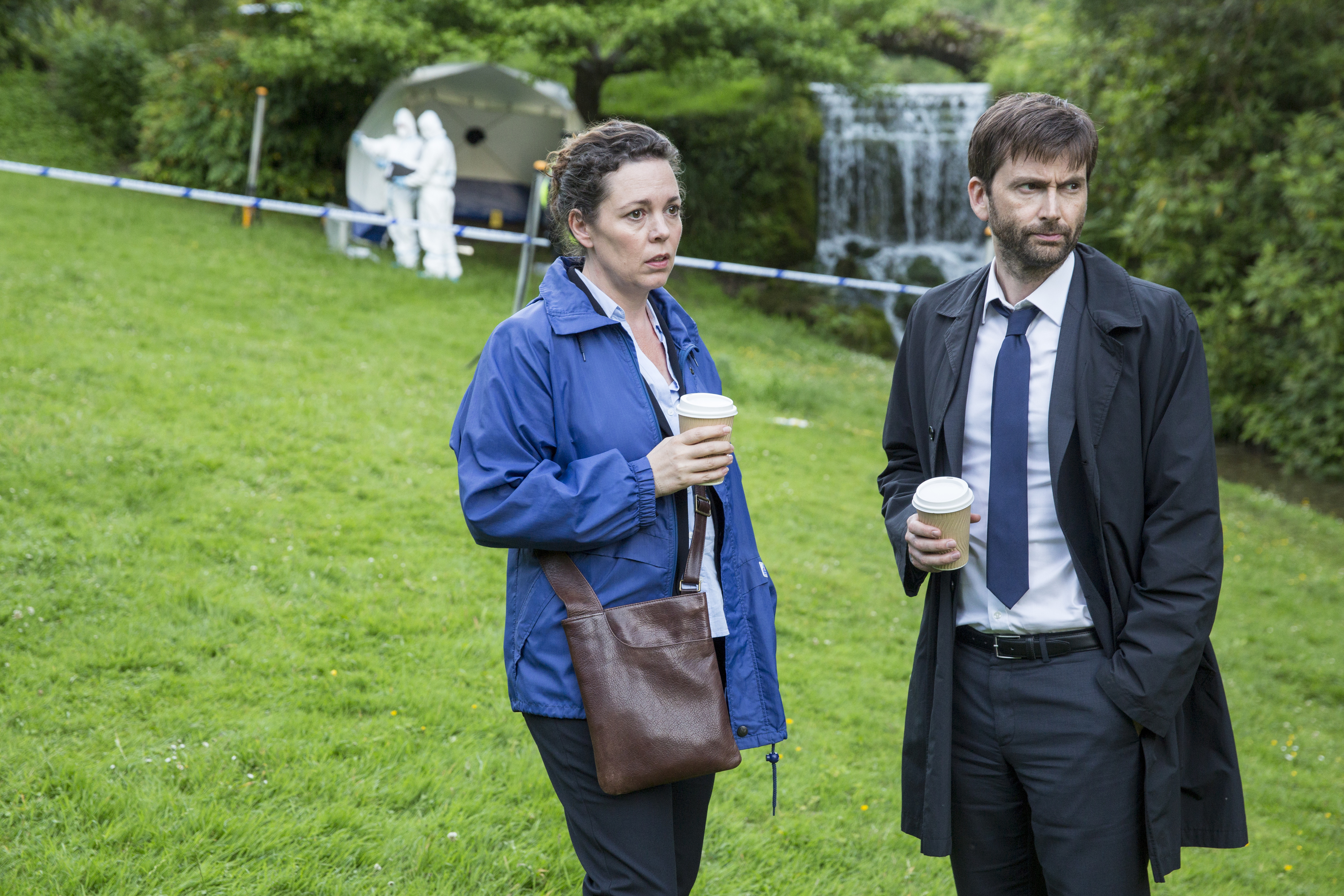 David Tennant just made a cup of tea in a microwave on Broadchurch and the internet is disgusted