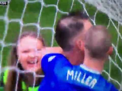 Celtic ball girl loses the plot at Rangers' last-gasp equaliser in Old Firm derby