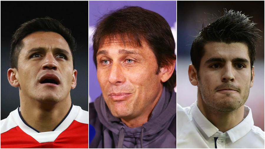 Chelsea considering £100million double deal for Alexis Sanchez and Romelu Lukaku after cooling Alvaro Morata interest