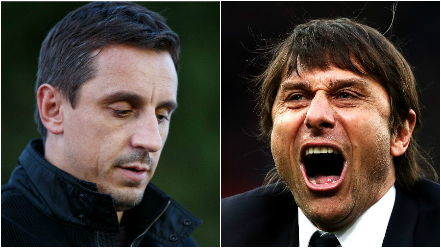 Injuries are the only thing that could have stopped Chelsea, insists Manchester United legend Gary Neville