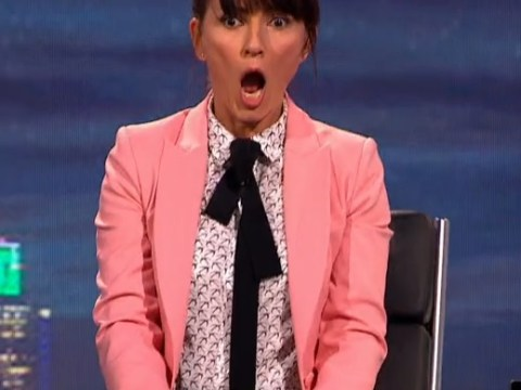 Davina McCall gets X-rated and fakes an orgasm on The Nightly Show