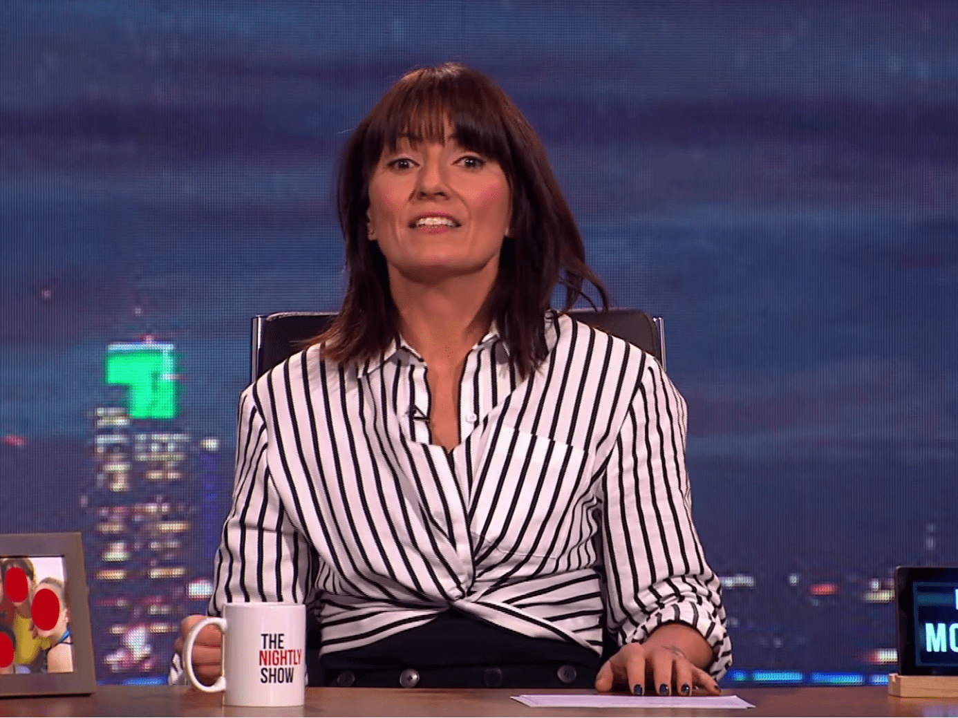 Davina McCall hosted The Nightly Show for the first time and some people hated it even more