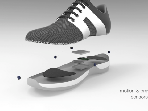 These smart trainers with in-built motion sensors can teach you how to dance
