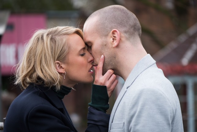 All over for Adam and Maxine as he and Darcy share a kiss in