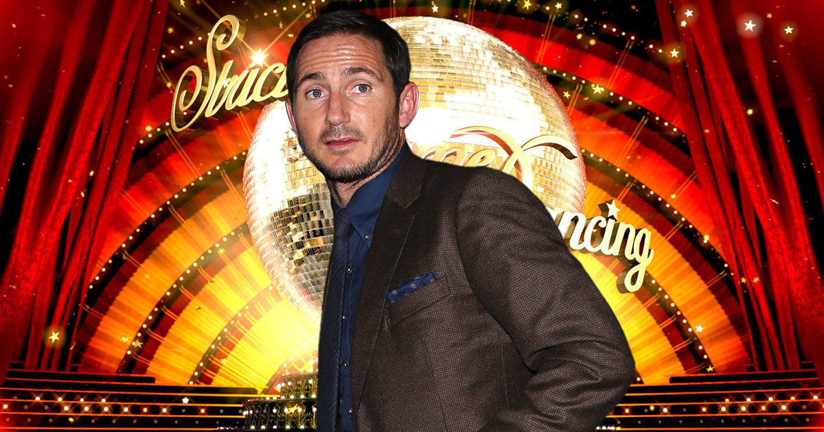 Frank Lampard for Strictly?