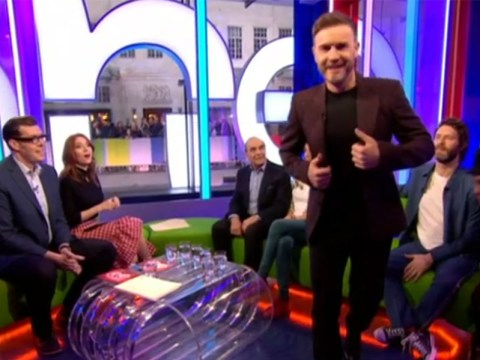 Gary Barlow walks off the set of The One Show mid-interview after feeling unwell