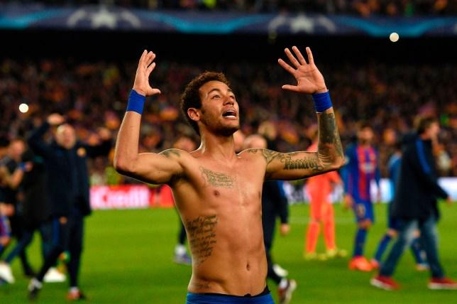 Image result for neymar barcelona vs psg