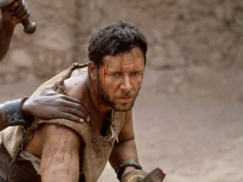 Is Russell Crowe preparing to enter the Gladiator arena again?