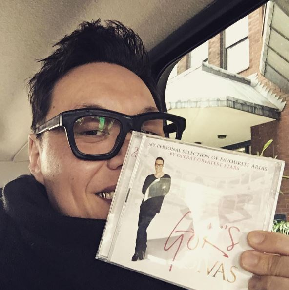 Gok Wan actually has a number one album