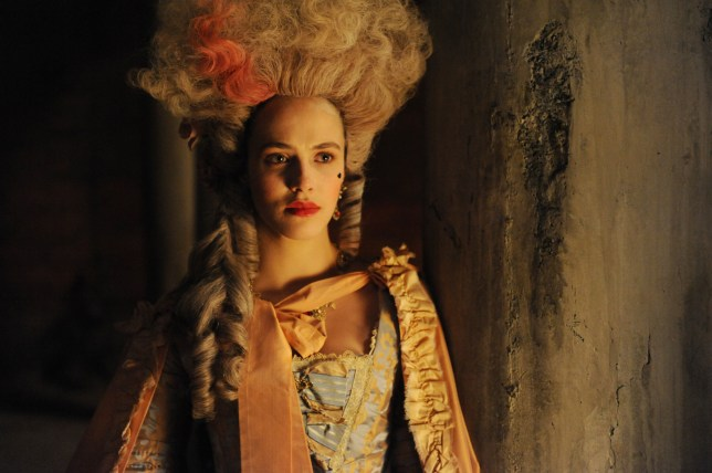 Jessica Brown Findlay is headed back to 18th century London for ITV Encore's new drama Harlots (Picture: ITV Encore/Monumental Pictures)