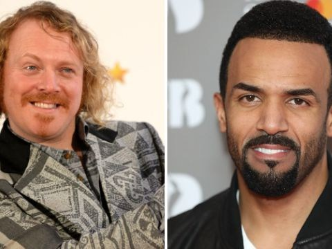 Keith Lemon wants Craig David to publicly put an end to their 13-year feud on Celebrity Juice