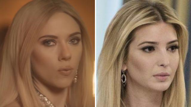 Scarlett Johansson takes aim at Ivanka Trump in hilarious Saturday Night Live sketch
