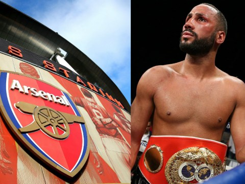 James DeGale targeting massive fight at home of Arsenal football club