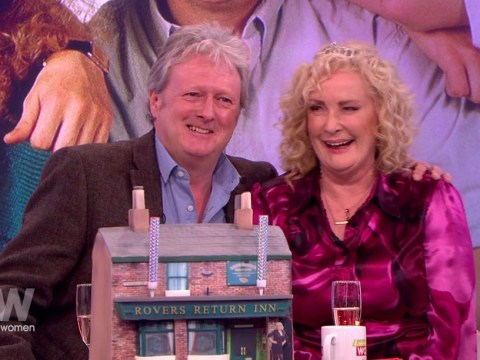 Coronation Street's Liz and Jim McDonald reunite! Charles Laweson surprises Beverely Callard on her 60th