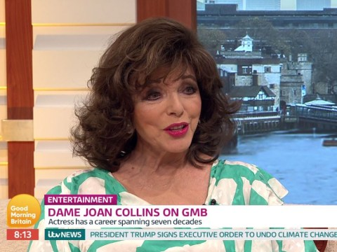 Joan Collins said 'there's no terrorism' in Paris on Good Morning Britain and viewers were very confused