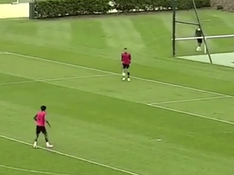 Chelsea's John Terry turns into Ronaldinho with training ground skill – video