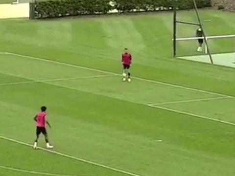 Chelsea's John Terry turns into Ronaldinho with training ground skill – video