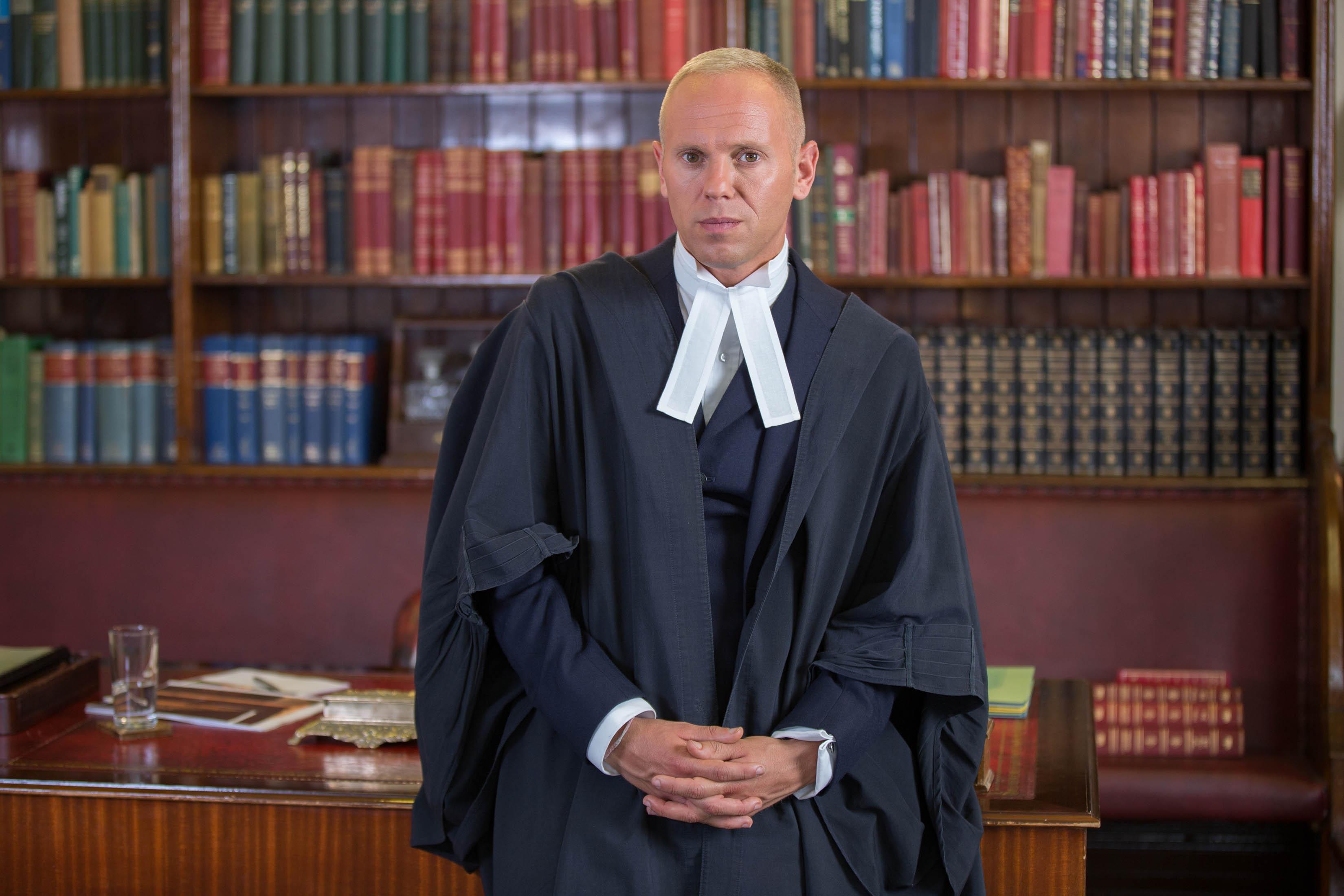 Judge Rinder separates from his partner of 11 years Seth Cummings