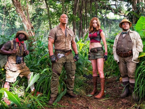 The Jumanji sequel has an official title – and confirmation that Jack Black will be playing a teenage girl