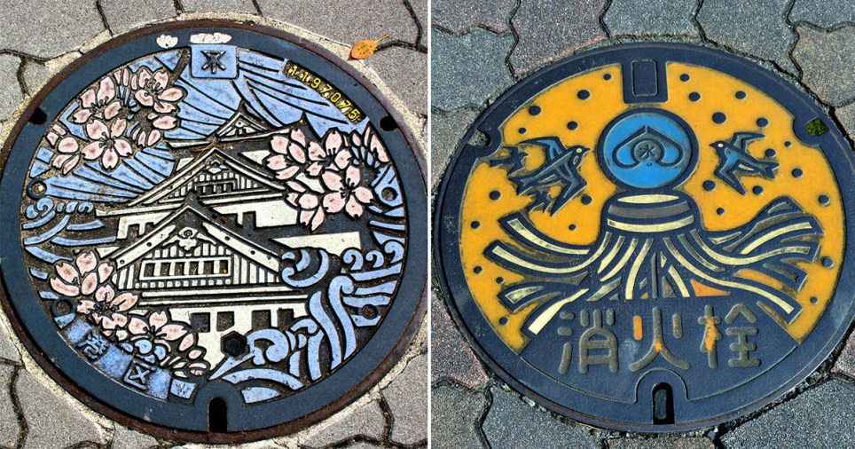 Manhole covers in Japan feature image
