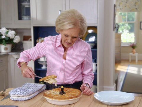 Mary Berry made a pie that wasn't really a pie and it's upset a lot of fans