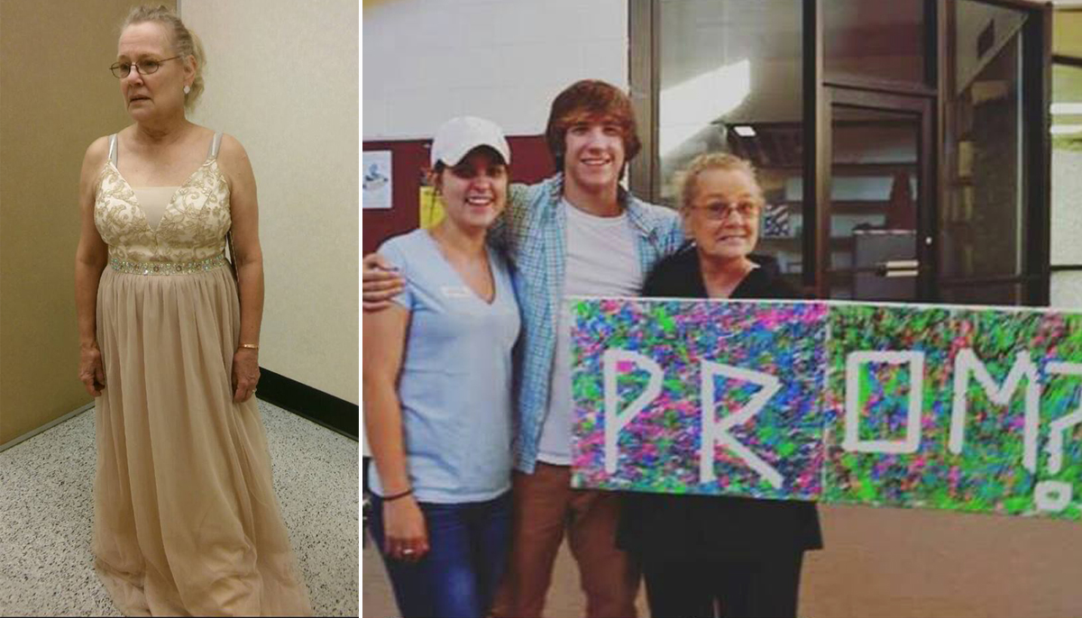 Teen wants to take his grandma to prom but his high school won't let him