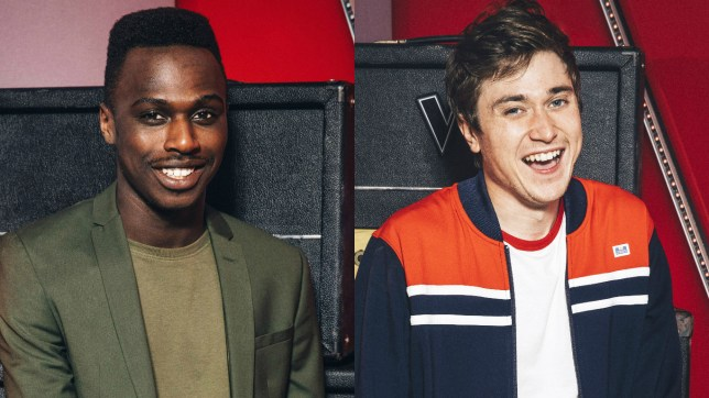 Mo Adineran (L) and Max Vickers (R) almost auditioned for The Voice as a duo act (Picture: ITV/REX/Shutterstock)