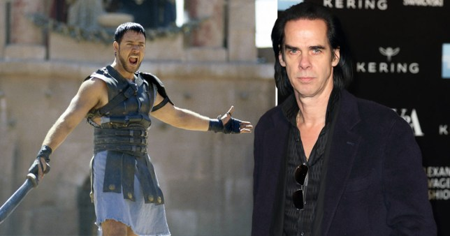 Nick Cave commissioned by Russell Crowe to bring Gladiator character back from the dead