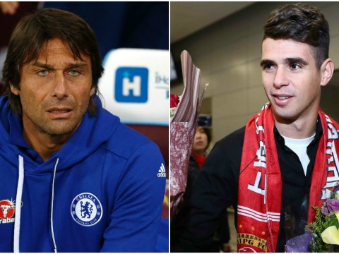 Antonio Conte respected my decision to leave Chelsea for China, says Oscar
