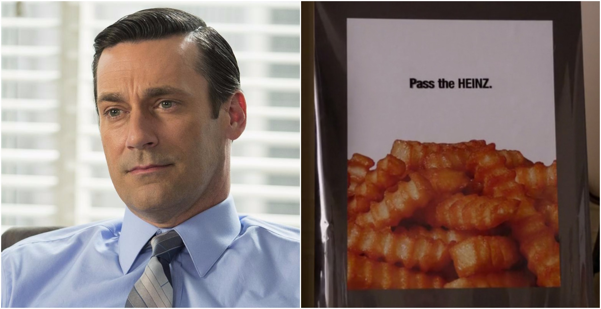 Heinz is using Don Draper's mouth-watering ad campaign 50 years after he pitched it on Mad Men