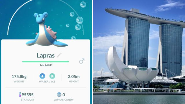 Man died of heart attack moments after catching rare Pokemon Lapras