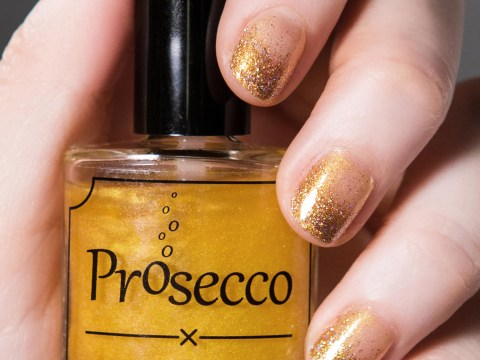 Prosecco flavoured nail varnish is coming