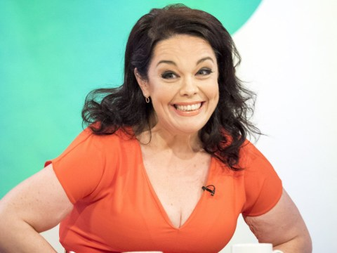 Lisa Riley reveals her post-surgery body after having a stone of skin removed