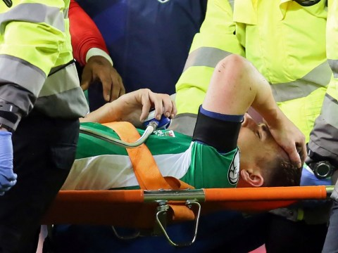 Wayne Rooney slams Neil Taylor over tackle which broke Seamus Coleman's leg