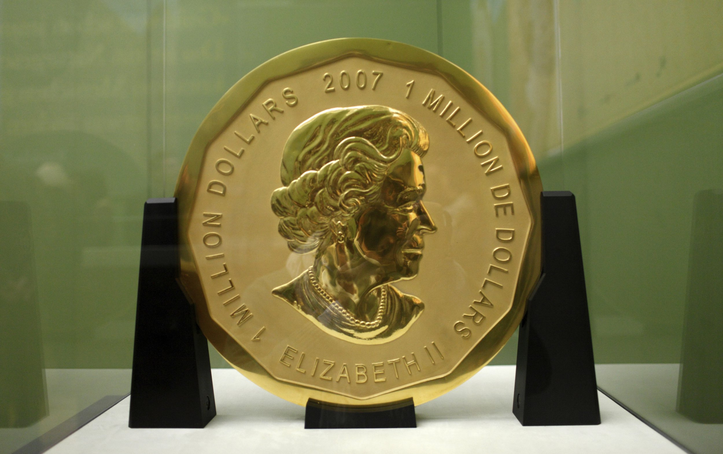 Massive 100kg gold coin worth £3.6m stolen from German museum